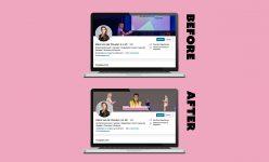 Merel van der Wouden - LinkedIn Banner Visual Design